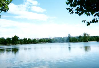 Casa de Campoのラゴ湖